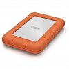 Original LaCie Rugged USB-C 4TB USB 3.0 External Hard Drive (STFR4000800)