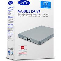 Original LaCie Mobile Drive 1TB USB 3.0 External External Hard Drive (STHG1000400)