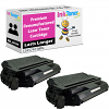 Premium Remanufactured Lexmark 0012A5740 Black Twin Pack Toner Cartridges (12A5740)