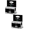 Original Lexmark 100 Black Twin Pack Ink Cartridges (14N0820E)