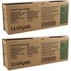 Original Lexmark 12A4605 Black Twin Pack Toner Cartridges (12A4605)