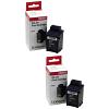 Original Lexmark 1382050 Black Twin Pack Ink Cartridges (1382050)