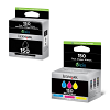 Original Lexmark 150 CMYK Multipack Ink Cartridges (14N1910E)