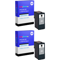 Premium Compatible Lexmark 23 Black Twin Pack Ink Cartridges (18C1523E)