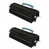 Original Lexmark 24B5700 Black Twin Pack High Capacity Toner Cartridges (24B5700)