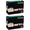 Original Lexmark 24B5875 Black Twin Pack High Capacity Toner Cartridges (24B5875)