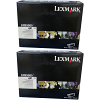Original Lexmark 24B5885 Black Twin Pack High Capacity Toner Cartridges (24B5885)