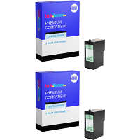 Compatible Lexmark 3 Black Twin Pack Ink Cartridges (18C1530E)