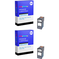 Premium Remanufactured Lexmark 36XL Black Twin Pack High Capacity Ink Cartridges (18C2170E)