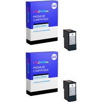 Premium Compatible Lexmark 42 Black Twin Pack Ink Cartridges (018Y0342E)