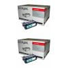 Original Lexmark 4K00199 Black Twin Pack High Capacity Toner Cartridges (4K00199)