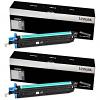 Original Lexmark 54G0H00 Black Twin Pack High Capacity Toner Cartridges (54G0H00)