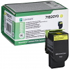 Original Lexmark 71B20Y0 Yellow Toner Cartridge (71B20Y0)