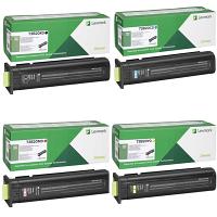 Original Lexmark 73B20 CMYK Multipack Toner Cartridges (73B20K0/ 73B20C0/ 73B20M0/ 73B20Y0)