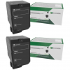 Original Lexmark 73B20K0 Black Twin Pack Toner Cartridges (73B20K0)