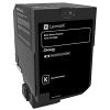 Original Lexmark 74C20K0 Black Toner Cartridge (74C20K0)