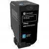 Original Lexmark 74C2HC0 Cyan Extra High Capacity Toner Cartridge (74C2HCE)