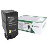 Original Lexmark 75B20Y0 Yellow Toner Cartridge (75B20Y0)