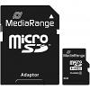 Original MediaRange Black Class 10 4GB MicroSDHC Memory Card (MR956)