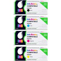 Value Compatible OKI 4464300 CMYK Multipack Toner Cartridges (44643004/ 44643003/ 44643002/ 44643001)