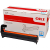 Original Oki 46484107 Cyan Image Drum Unit (46484107)