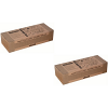 Original Olivetti B0446 Black Twin Pack Toner Cartridges (B0446)