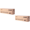 Original Olivetti B0708 Black Twin Pack Toner Cartridges