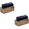 Original Olivetti B0771 Black Twin Pack Toner Cartridges (B0771)