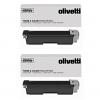 Original Olivetti B0946 Black Twin Pack Toner Cartridges (B0946)