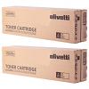 Original Olivetti B0987 Black Twin Pack Toner Cartridges (B0987)