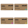 Original Olivetti B12 CMYK Multipack Toner Cartridges (B1217/ B1218/ B1219/ B1220)