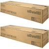 Original Olivetti B1215 Black Twin Pack Toner Cartridges (B1215)