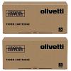 Original Olivetti B1217 Black Twin Pack Toner Cartridges (B1217)