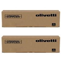 Original Olivetti B1230 Black Twin Pack Toner Cartridges (B1230)