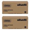 Original Olivetti B1233 Black Twin Pack Toner Cartridges (B1233)