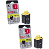 Original Olivetti FPJ20 Black Twin Pack Ink Cartridges (B0384)