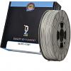 Premium Compatible PETG 1.75mm Silver 0.5kg 3D Filament (98-PET-175SI1)