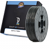 Compatible PLA 1.75mm Black 0.5kg 3D Filament (98-PLA-175BK1)