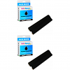 Premium Compatible Panasonic KX-FA134 Black Twin Pack Thermal Transfer Rolls (KX-FA134)