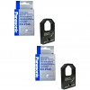 Original Panasonic KXP145S Black Twin Pack Nylon Ribbon (KX-P145-S)