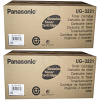 Original Panasonic UG3221 Black Twin Pack Toner Cartridges