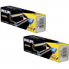Original Philips PFA322 Black Twin Pack Ink Film Thermal Ribbons (PFA322)