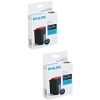 Original Philips PFA431 Black Twin Pack Ink Cartridges (PFA431)