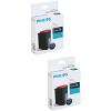 Original Philips PFA431 Black Twin Pack Ink Cartridges