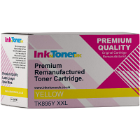 Premium Kyocera TK-895Y Yellow High Capacity Toner Cartridge