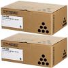 Original Ricoh 841887 Black Twin Pack Toner Cartridges (841887)