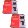 Original Ricoh GC21K Black Twin Pack Gel Ink Cartridges (405532/405540)