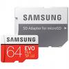 Original Samsung Evo Plus Class 10 64GB MicroSDXC Memory Card (MB-MC64GA/EU)