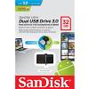 Original SanDisk 32GB Ultra Dual USB 3.0 Flash Drive (SDDD2-032G-GAM46)