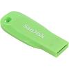 Original SanDisk Cruzer Blade 32GB Green USB 2.0 Flash Drive